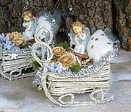 Vianoce s anjelikom na sánkach
