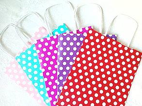 Obalový materiál - Shopping bag (dots) - 7360570_