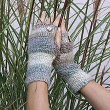 Rukavice - Najvyrukavičkovanejšie melírované rukavice - 7357236_