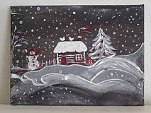 Obrazy - Čaro zimnej noci - 7355878_