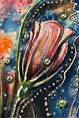 Tričká - kvetinkové tričko - 7361787_
