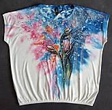 Tričká - kvetinkové tričko - 7361788_