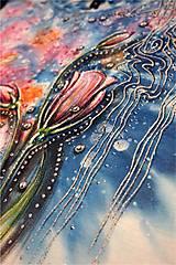 Tričká - kvetinkové tričko - 7361790_