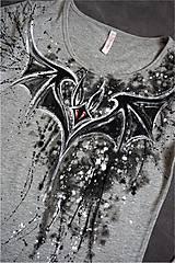 Tričká - netopier - tričko - 7361798_