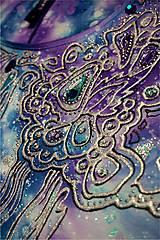 Tričká - čipkovaný vesmír - tričko - 7361831_