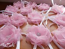 - svadobné náramky v ružovom - 7359502_