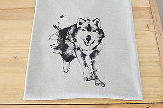 Oblečenie - Vlk šedý, M, pánske - 7356016_
