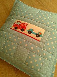 Textil - Patchwork detský vankúšik* - 7361244_