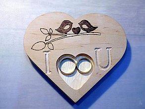 Prstene - vintage svadba/vankúšik pod svadobné prstene XIV - 7356772_