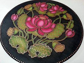 Dekorácie - Mandala lotos poznania - 7361358_