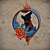 Dekorácie - Francúzsky buldoček - vianočná ozdoba - 7359409_