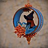 Dekorácie - Francúzsky buldoček - vianočná ozdoba - 7359418_