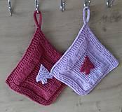 Úžitkový textil - chňapky- aplikácia stromček - 7358556_