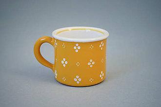 Nádoby - Kafáč espresso 4puntík 6 žlutý - 7361732_