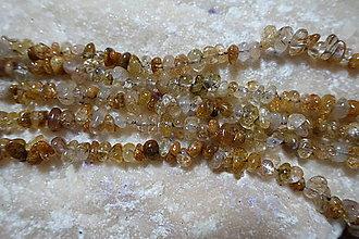Minerály - Sagenit / Venušine vlasy m. zlomky - 7358884_