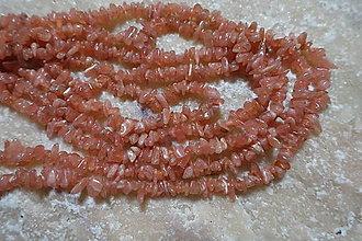 Minerály - Rodochrosit 3x5 zlomky - 7358932_