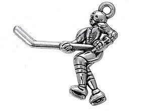 Komponenty - Prívesok hokejista - 7355905_