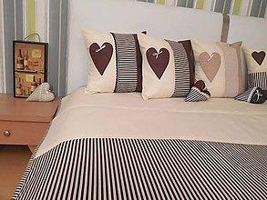 Úžitkový textil - prehoz na posteľ  120x200 cm - 7365443_