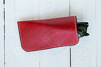 Iné doplnky - Sunflower Glasses Case - Red - 7363107_
