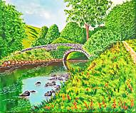 Obrazy - Kamenný most - 7364392_