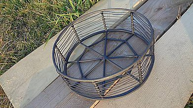 Košíky - Drôtený košík
