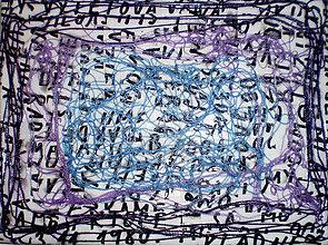 Obrazy - Maják: Obraz nitkový miš-maš - 7363634_