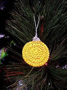 Dekorácie - Vianočná guľa - 7365991_