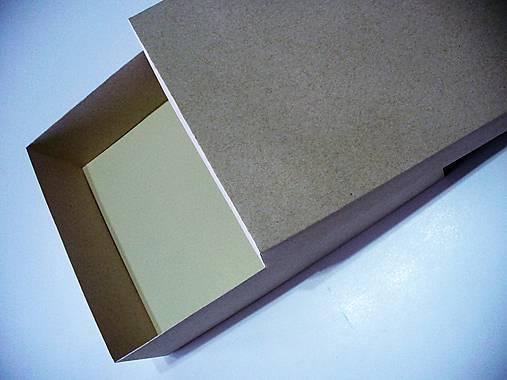 e7d85c58d Krabička z lepenky a prírodného papiera / tvojobal - SAShE.sk ...