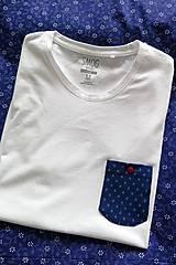 Oblečenie - tričko MODROTLAČ - ko - 7364958_
