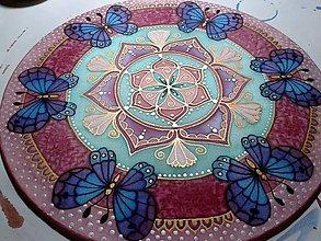 Dekorácie - Mandala premeny a jemnej ženskosti - 7366117_