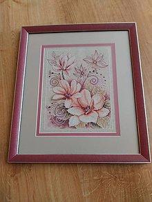 Obrázky - ružové kvietky - 7363726_