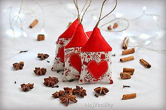 Dekorácie - Vianočné Mini Chalúpky - 7364602_