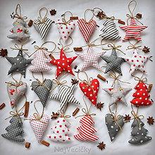 Dekorácie - Vianočná sada 24 dekorácií - 7365086_