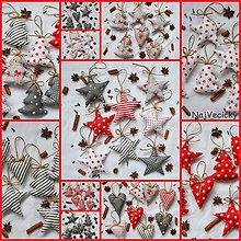 Dekorácie - Vyskladaj si Vianoce - 7365103_