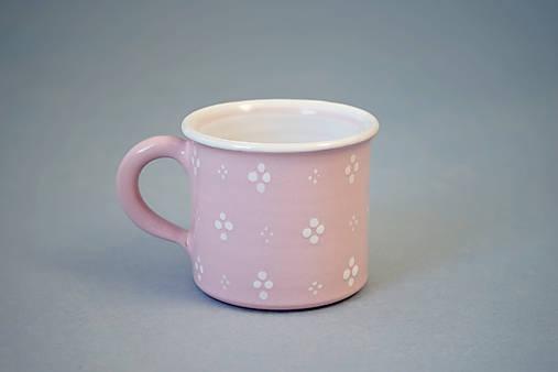 Kafáč espresso 4puntík 6 růžový