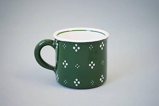 Kafáč espresso 4puntík 6 zelený