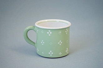 Nádoby - Kafáč 6 espresso 4puntík - světle zelený - 7362156_