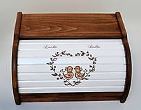 Nádoby - Chlebník ručne maľovaný - 7362094_