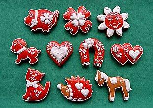 Drobnosti - Vianočné medovníčky sada 2 - 7364041_