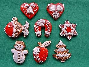 Drobnosti - Vianočné medovníčky - 7364066_