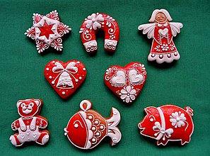 Drobnosti - Vianočné medovníčky - 7364090_