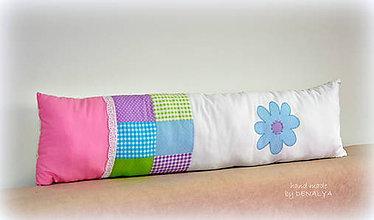 Textil - Podlhovastý vankúš 23x90cm kolekcia Pastel - 7371419_