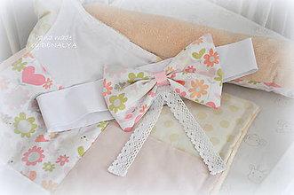 Textil - Samostatne mašľa bez baldachýnu z kolekcie Alžbetka - 7371974_