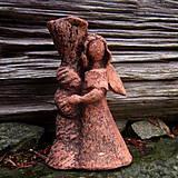Svietidlá a sviečky - Andělský svícen malý - 7368453_