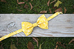 Motýlik žltý vzorovaný