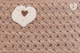 Textil - Háčkovaná detská deka - 7368889_