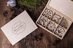Dekorácie - Vianočné ozdoby z dreva - KOLEKCIA INSIDER - 7370808_