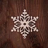 Dekorácie - Vianočná vločka 6 - 7371453_
