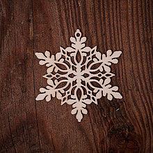 Dekorácie - Vianočná vločka 4 - 7371368_