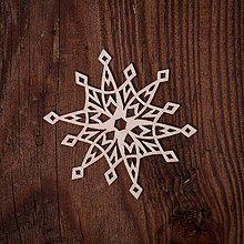 Dekorácie - Vianočná vločka 8 - 7371505_